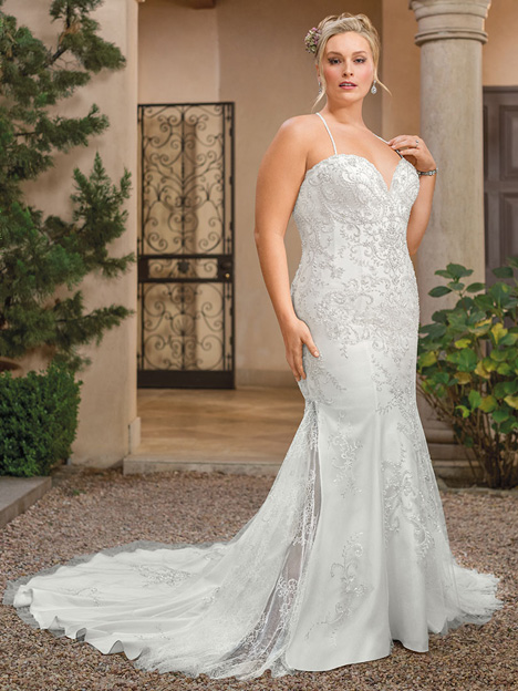 Soraya + Wedding                                          dress by Casablanca Bridal
