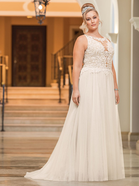 Eloise + Wedding                                          dress by Casablanca Bridal
