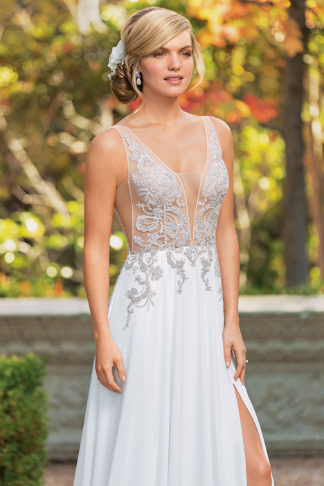 Finely Wedding                                          dress by Casablanca Bridal