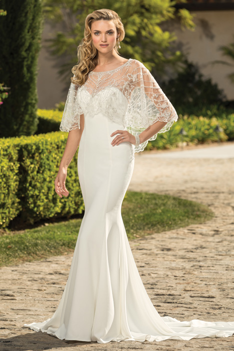 Leona (Shawl) Wedding                                          dress by Casablanca Bridal
