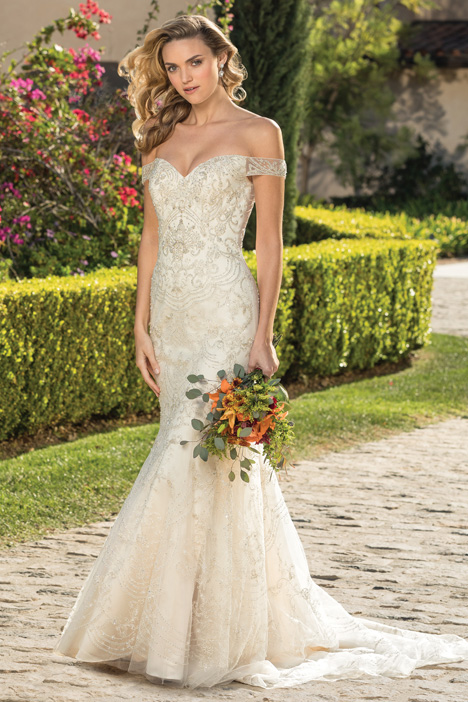 Bianca Wedding                                          dress by Casablanca Bridal