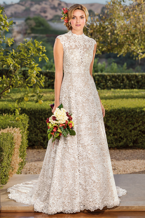 Vienna Wedding                                          dress by Casablanca Bridal
