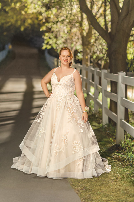 Athena + Wedding                                          dress by Beloved By Casablanca
