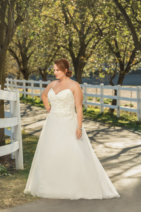 Thea + Wedding                                          dress by Beloved By Casablanca