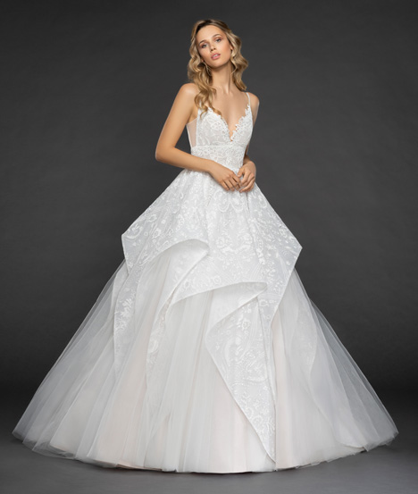 Markle Wedding                                          dress by Hayley Paige