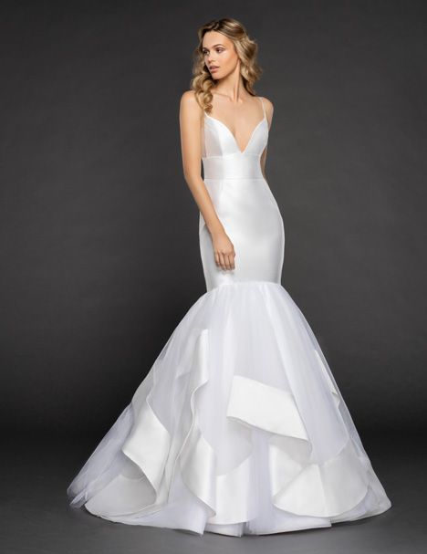 Nevada Wedding                                          dress by Hayley Paige