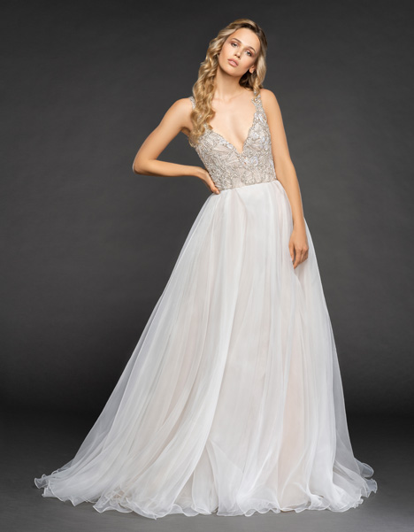 Warren Wedding                                          dress by Hayley Paige