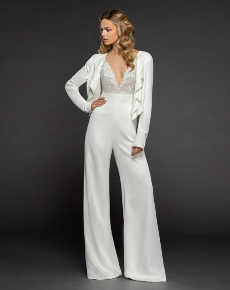 Mimi (2) gown from the 2018 Hayley Paige collection, as seen on dressfinder.ca