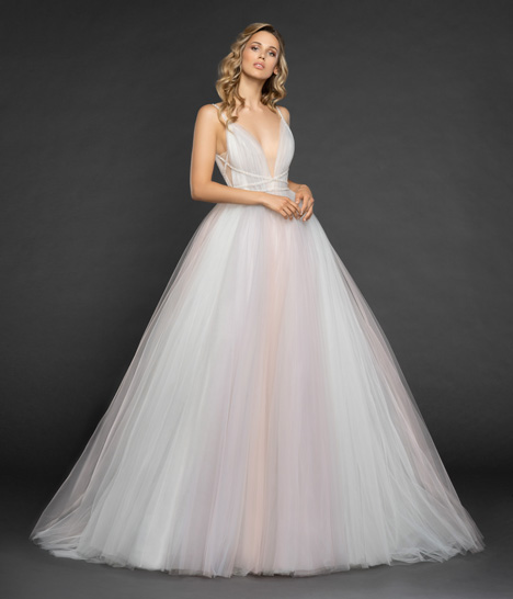 Costello Wedding                                          dress by Hayley Paige