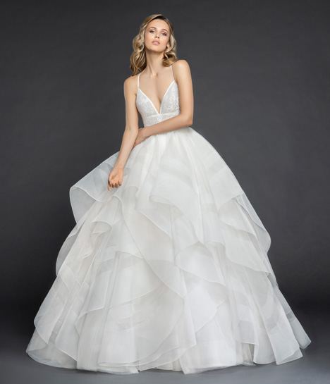 Aldridge Wedding                                          dress by Hayley Paige