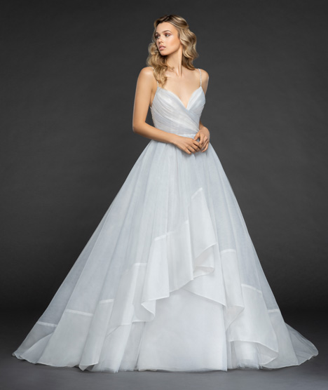 Billie Wedding                                          dress by Hayley Paige