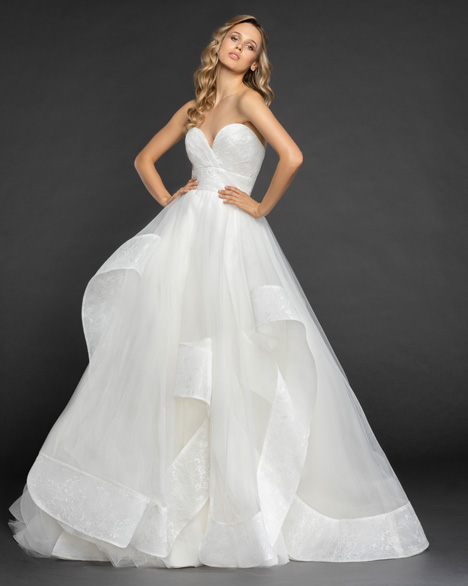 Quinn Wedding                                          dress by Hayley Paige