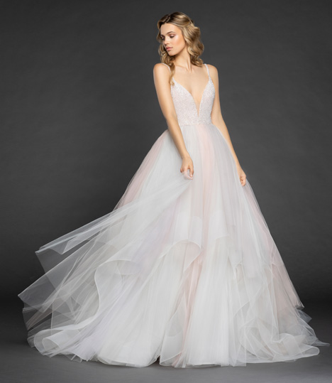 Hennessey Wedding                                          dress by Hayley Paige