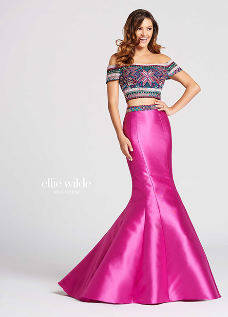 Style EW118038 gown from the 2018 Ellie Wilde collection, as seen on dressfinder.ca