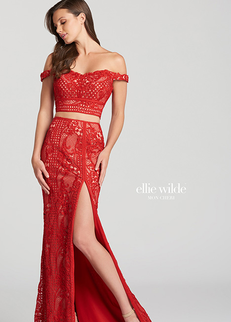 EW118059-Red gown from the 2018 Ellie Wilde collection, as seen on dressfinder.ca