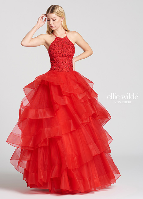EW118169-Red gown from the 2018 Ellie Wilde collection, as seen on dressfinder.ca