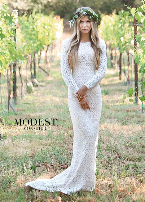TR11832 Wedding                                          dress by Modest by Mon Cheri