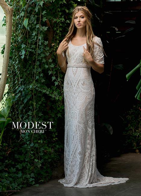 TR11833 Wedding                                          dress by Modest by Mon Cheri