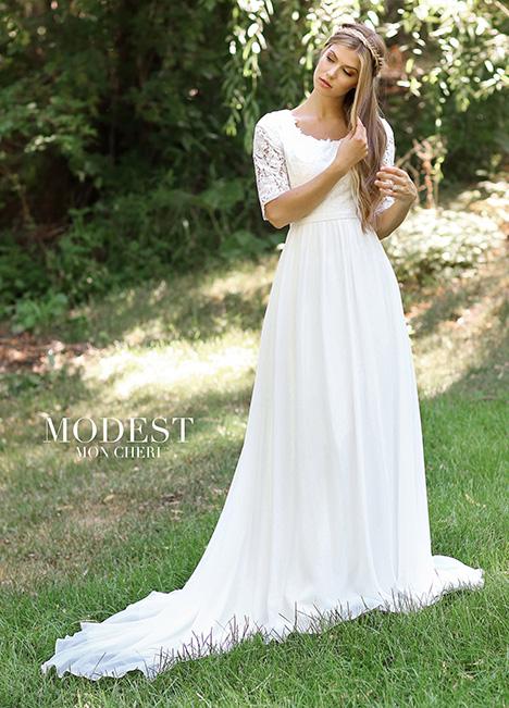TR11834 Wedding                                          dress by Modest by Mon Cheri