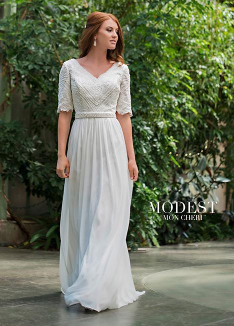 TR11836 Wedding                                          dress by Modest by Mon Cheri
