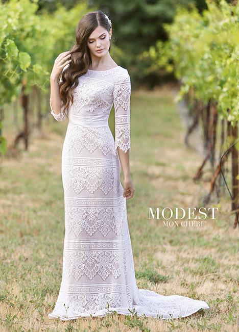 TR11840 Wedding                                          dress by Modest by Mon Cheri