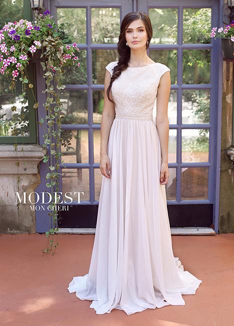 TR11841 Wedding                                          dress by Modest by Mon Cheri