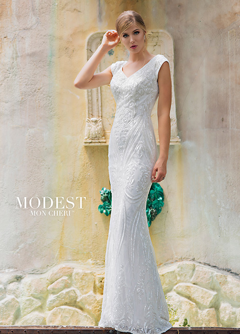 TR11842 gown from the 2018 Modest by Mon Cheri collection, as seen on dressfinder.ca