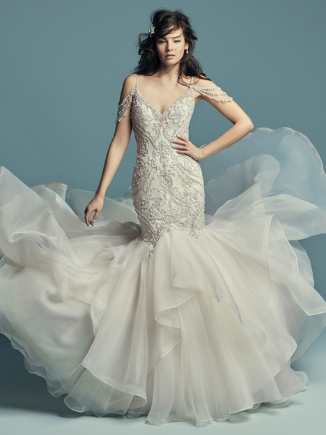 Brinkley Wedding                                          dress by Maggie Sottero
