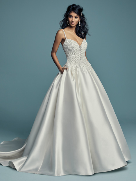 Dana Wedding                                          dress by Maggie Sottero