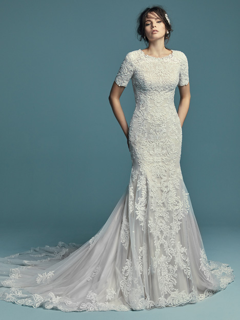 Della Marie Wedding                                          dress by Maggie Sottero