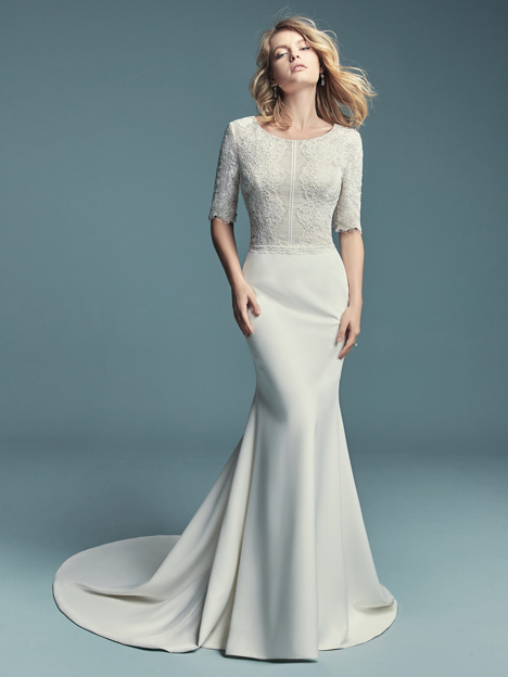 Edalene Wedding                                          dress by Maggie Sottero