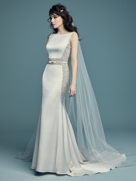 Fabienne Wedding                                          dress by Maggie Sottero