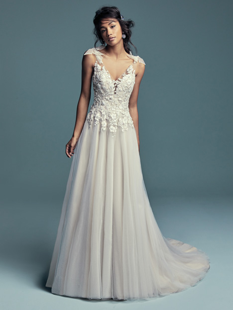Farron Wedding                                          dress by Maggie Sottero