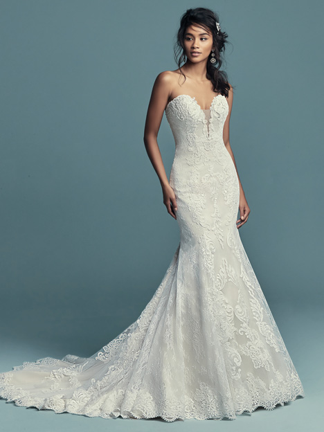 Freiday Wedding                                          dress by Maggie Sottero