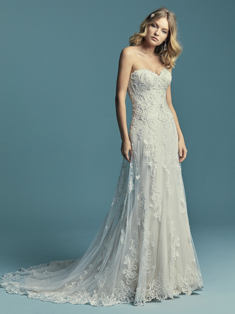 Indiana Wedding                                          dress by Maggie Sottero