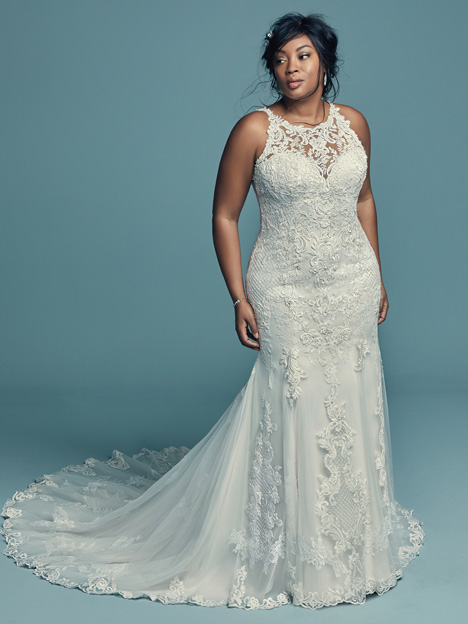 Kendall Lynette (Curve) gown from the 2018 Maggie Sottero collection, as seen on dressfinder.ca