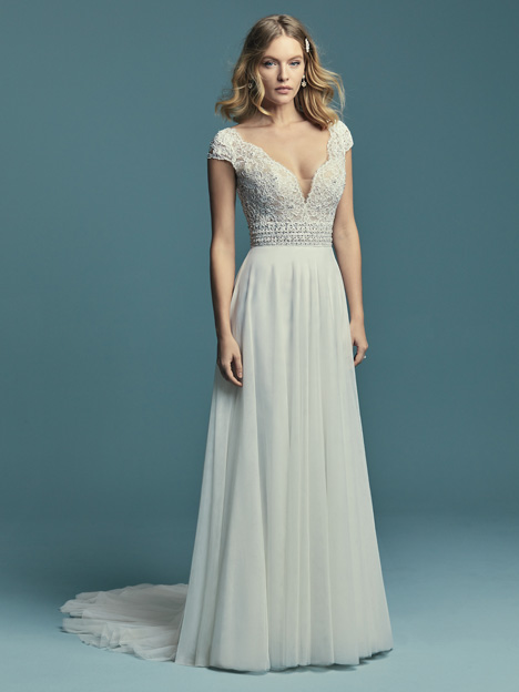 Monarch Wedding                                          dress by Maggie Sottero