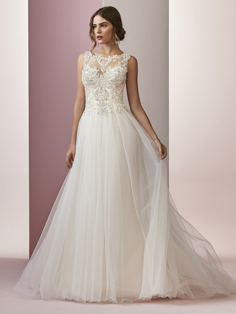 Amanda gown from the 2018 Rebecca Ingram collection, as seen on dressfinder.ca