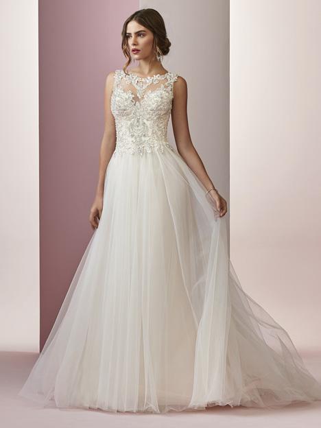 Amanda Wedding                                          dress by Rebecca Ingram