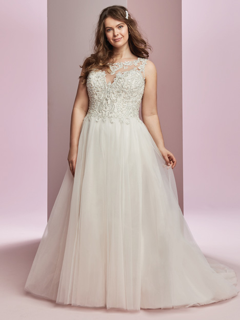 Amanda + Wedding                                          dress by Rebecca Ingram