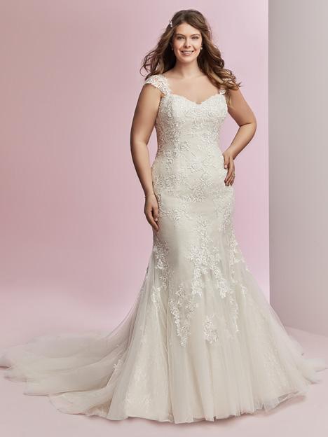 Amber + Wedding                                          dress by Rebecca Ingram