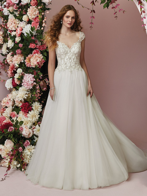 Bella Wedding                                          dress by Rebecca Ingram