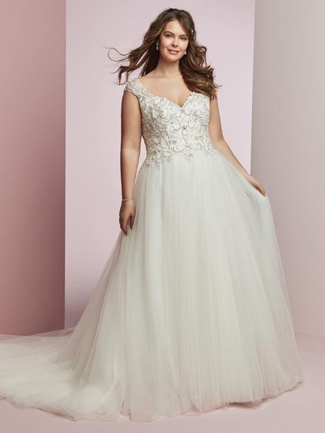Bella + Wedding                                          dress by Rebecca Ingram
