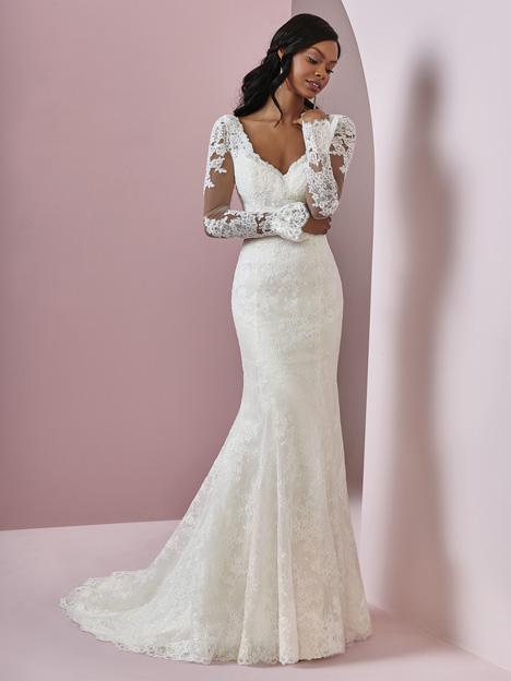 Bonnie Wedding                                          dress by Rebecca Ingram