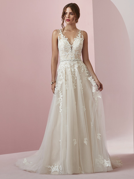 Camille Wedding                                          dress by Rebecca Ingram