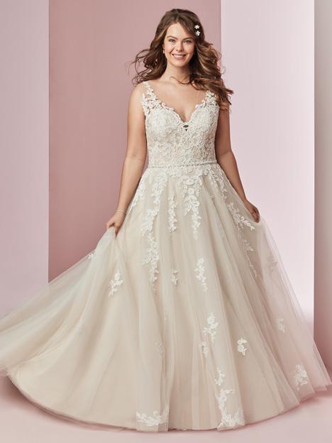 Camille Anne + Wedding                                          dress by Rebecca Ingram