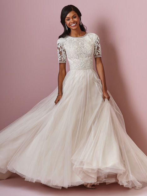 Eliza Anne Wedding                                          dress by Rebecca Ingram