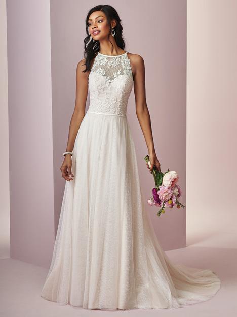 Heidi Wedding                                          dress by Rebecca Ingram