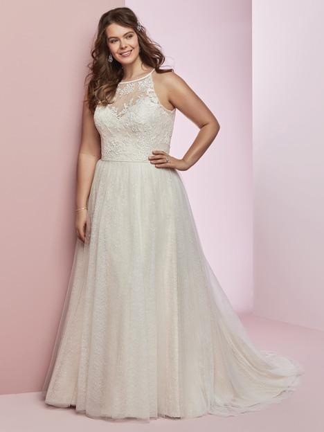 Heidi + Wedding                                          dress by Rebecca Ingram