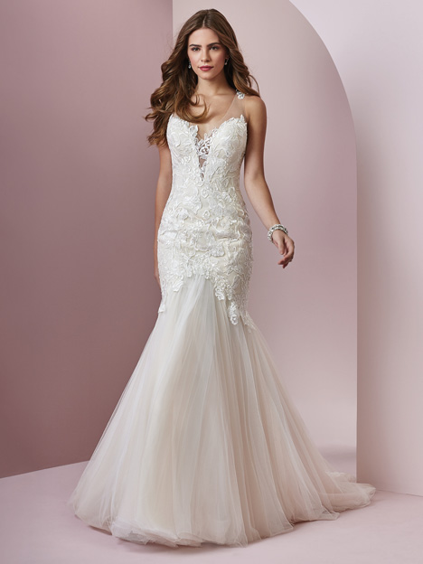 Mary gown from the 2018 Rebecca Ingram collection, as seen on dressfinder.ca